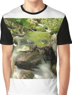 The unidentified stream in Hillerstorp II Graphic T-Shirt