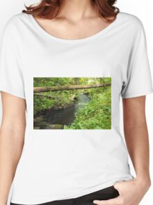 The unidentified stream in Hillerstorp III Women's Relaxed Fit T-Shirt
