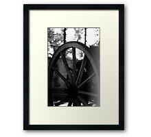 Cartwheel Framed Print
