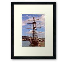 Tall Ship Framed Print
