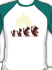 Fire Red Evolution T-Shirt