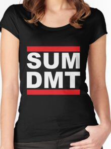 SUM DMT? Women's Fitted Scoop T-Shirt