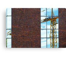 building crane Canvas Print