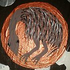 Emu Totum 2 (Tree of Life Painting) by LESLEY B