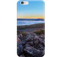 Sunrise panorama - Ben Lomond, Tasmania iPhone Case/Skin