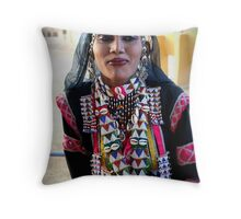 Dancing with stars... in the eyes Throw Pillow