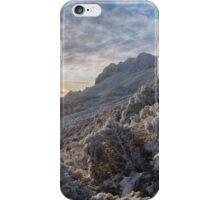 Snowy sunrise. Ben Lomond, Tasmania. iPhone Case/Skin