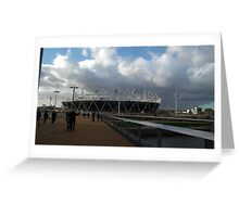 Olympic Venue Greeting Card