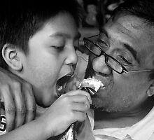 The joy of sharing. by Santonius