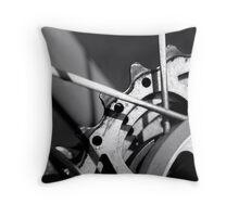 Gears Throw Pillow