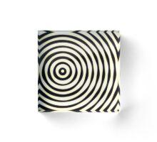 Imprefect Circles Acrylic Block