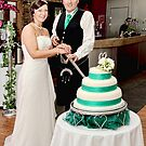 Cake cutting by AmandaJanePhoto