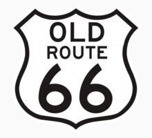 Old Route 66, USA One Piece - Short Sleeve