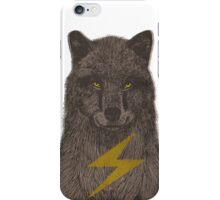 Warning: Electric Wolf iPhone Case/Skin