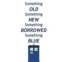 Dr Who Tardis, something old, something new Photographic Print