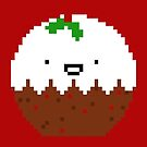 Cute Christmas Pixel Pud by perdita00