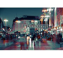 The Essence of Croatia - In the Heart of Zagreb Photographic Print