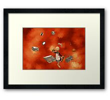 A French Maid Calamity Framed Print