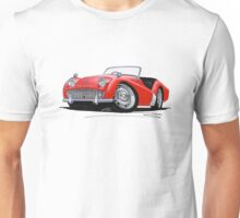 Triumph TR3A Red Unisex T-Shirt
