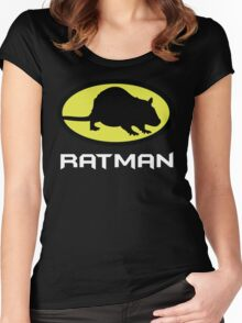 Ratman Women's Fitted Scoop T-Shirt