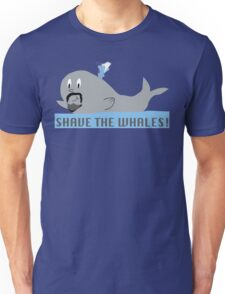 Shave the Whales Unisex T-Shirt