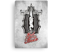 Hail holy BEER!!! Canvas Print