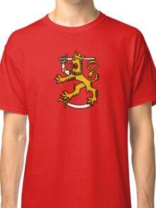 suomi finland lion Helsinki Classic T-Shirt