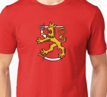 suomi finland lion Helsinki Unisex T-Shirt