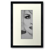 Lady Gaga Framed Print