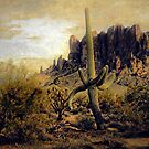 Graceful Saguaro  by CarolM