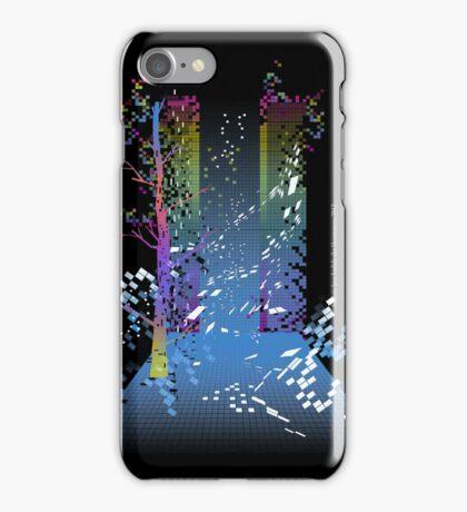 grid escape iPhone Case/Skin