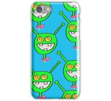 Martian iPhone case with Extry Martians! iPhone Case/Skin