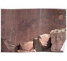 Utah Petroglyphs Poster