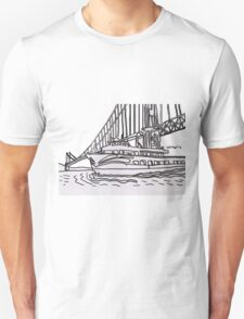 Red And White Fleet T-Shirt