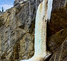 Ice Fall on Atlin Road by Yukondick