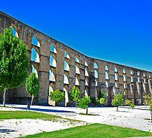 Aqueduct in Elvas by julie08