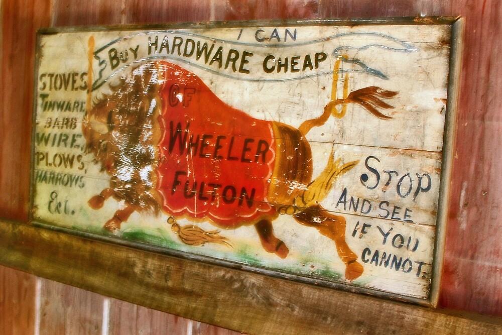 ~ I Can Buy Hardware Cheap ~ by Nadya Johnson