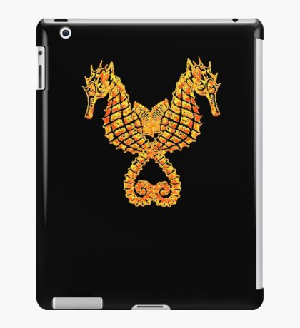 Sea Horses Tribal Tattoo iPad Case/Skin