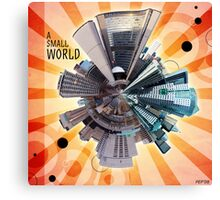 A Small World Canvas Print
