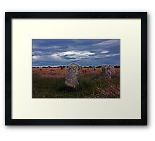 Merry Maidens Cornwall Framed Print