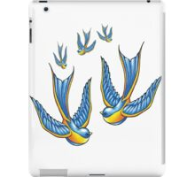 Tattoo Style Swallow  iPad Case/Skin