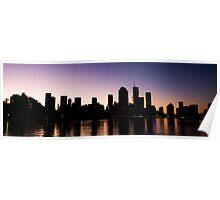 Brisbane Skyline Poster