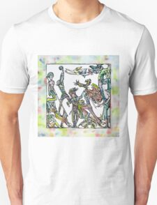 ROOM OF THE PLAYING FRIENDS Unisex T-Shirt