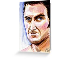 Richard Armitage, John Porter Greeting Card