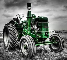 Tractor Green by William Rottenburg