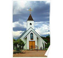 Elvis Chapel Poster