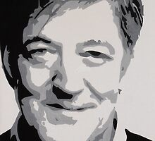 Stephen Fry Painting by heythisisBETH