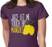 Jace's Mangoes Womens Fitted T-Shirt