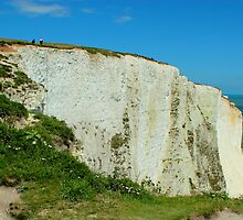 Historic Cliffs of Dover by rsangsterkelly