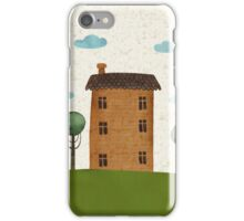 House in the сlouds iPhone Case/Skin